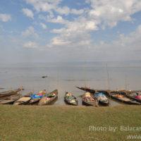 Fisher boats, Matian haor, Sunamganj