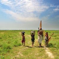 Fisherman, Thapna beel, Tahirpur, Sunamganj