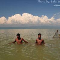 Fishing in Matian haor, Sunamganj