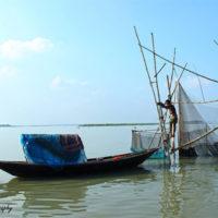 Fishing at Halti Beel